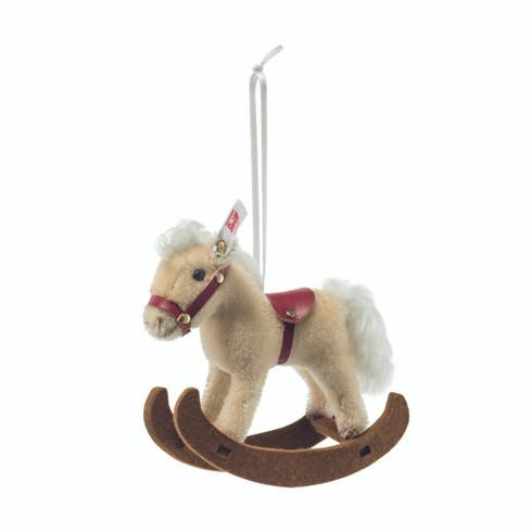 Steiff Rocking Horse Ornament EAN 683398