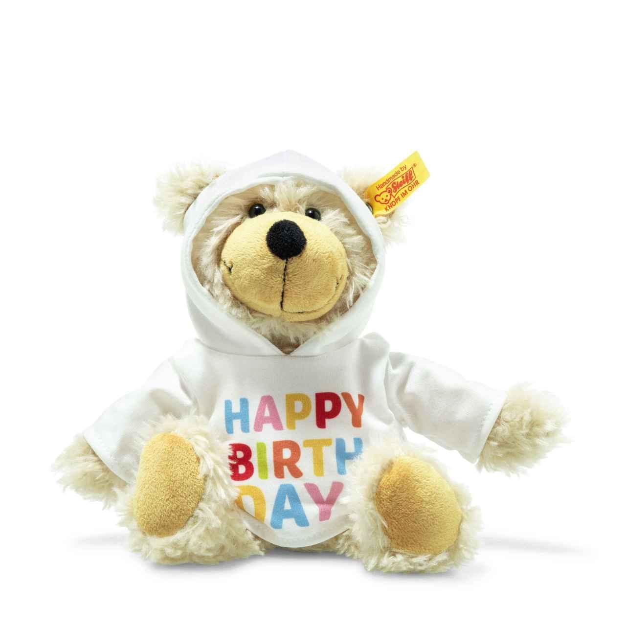 Charly Happy Birthday Teddy Bear With Hoody