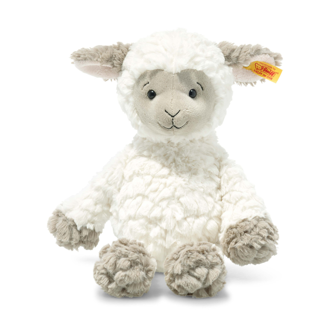 "Steiff Large Fuzzy Lamb Stuffed Animal 15/"""