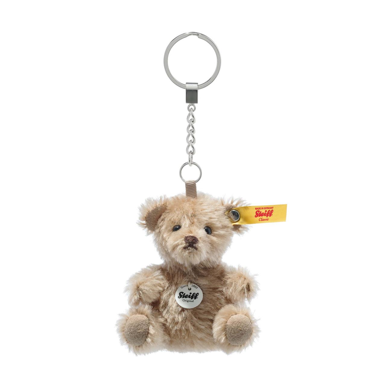STEIFF x Hobonichi Limited Key Ring Strap key chain Teddy Bear Cafe au lait