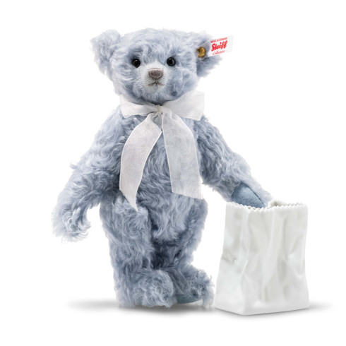 Lily Teddy bear with Rosenthal Vase EAN 006777 - Bear does not stand on its own