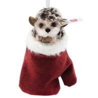 Hedgehog in Mitten Ornament EAN 007040 (PRE-ORDER)