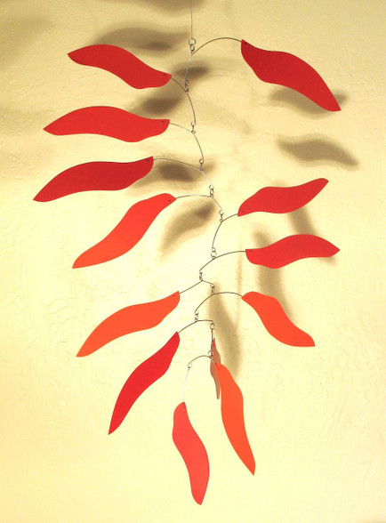 Fire Leaf Mobile