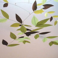 Moon-Lily Leaf Mobile