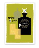 Poison Cocktail Halloween Card