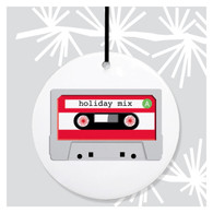 Holiday Mix Tape Ornament