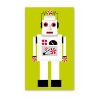 Robot Holiday Enclosure Cards