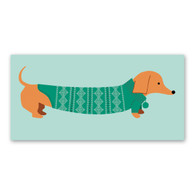 Sweater Doxie Holiday Cards by Rock Scissor Paper