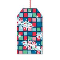 Mosaic Squares Gift Tags