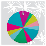 Bright Spectrum Holiday Ornament by Rock Scissor Paper