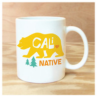 Cali Native Coffee Mug by Rock Scissor Paper