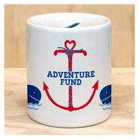 Adventure Fund Coin Bank by Rock Scissor Paper