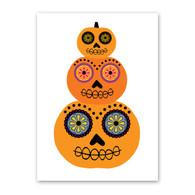 Pumpkin Stack Halloween Card by Rock Scissor Paper