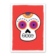 Skull Halloween Card by Rock Scissor Paper