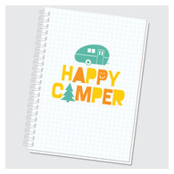 Happy Camper Journal by Rock Scissor Paper