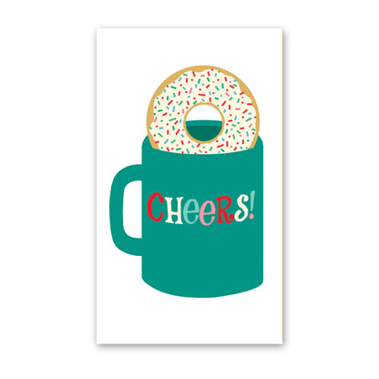 Holiday Donut Enclosure Cards by Rock Scissor Paper
