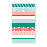 Holiday Stripe Mini Cards by Rock Scissor Paper