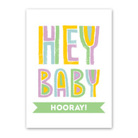 Hooray Baby Card