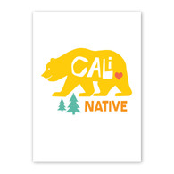 Cali Bear Note Card