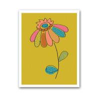 Dotty Flower Print