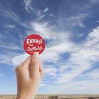 Exhale Sticker