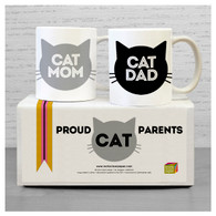 Cat Parents Mug Set