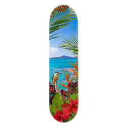Kingfisher Reef art skatedeck