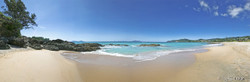 Langs Beach, Bream Bay, Northland, NZ showing sea and sand - landscape photo print for sale