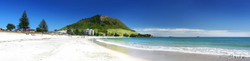 Mount Maunganui, Tauranga, NZ showing beach and sand - landscape photo print for sale.