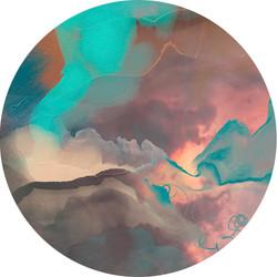 Wall decal - 'Sunshower'