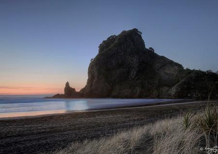 """""""Lion Rock"""" West Coast, Piha landscape -photo art print / wall art for sale"""