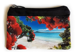 ''Glendowie Paradise'' NZ art purse