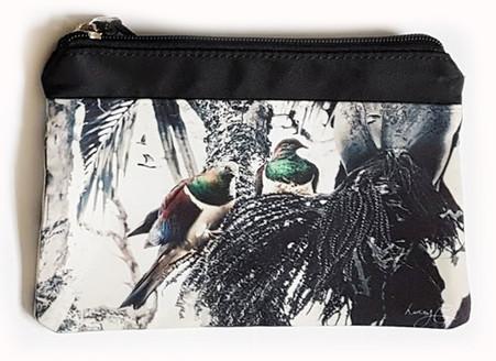 'Together' NZ Kereru art purse