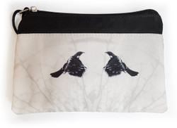 ''Two Tuis'' NZ art purse