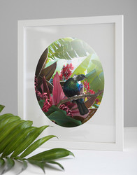 Hope NZ Tui art print