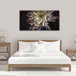 ''Chrysanthemum 3'' horizontal wall art canvas