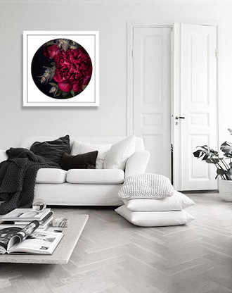 ''Scarlet Peony 1'' - PAPER PRINT / CANVAS / FRAMED ART