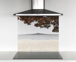 900x750mm DIY glass splashback Kohi Paradise 2 (Rangitoto)