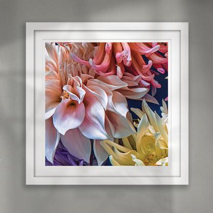 ''Perfection'' beautiful flower wall art print