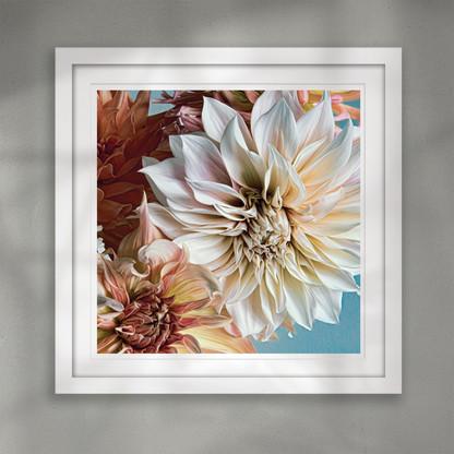 ''Hope'' beautiful floral wall art print