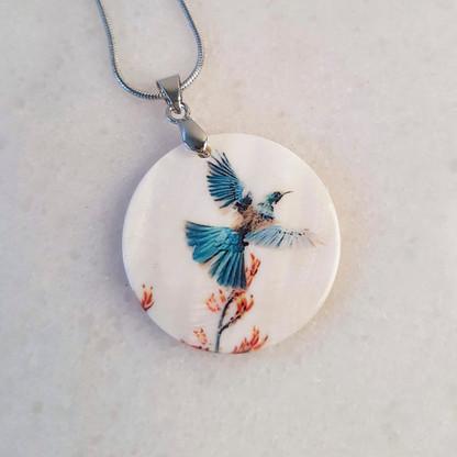 Flying Tui pendant