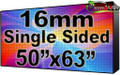 """Outdoor Full Color LED Programmable Sign - Front Access - Single Sided - 16mm- 50.39"""" x 62.99""""- 5 Year Warranty"""