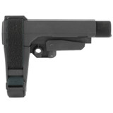 SB Tactical, SBA3 Stabilizing Brace, 5 Position Adjustable, Includes 6 Position Carbine Receiver Extension, Black Finish
