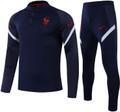 Kids France 2020-21 Navy Blue Tech Training Suit