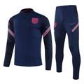 Adult England 2020-21 Navy Blue Tech Training Suit