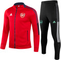 Adult Arsenal 2021-22 Red Football Track Suit Soccer Track Suit
