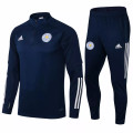Adult Leicester City 2021-22 Navy Football Soccer Tech Training Suit
