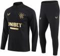 Adult Glasgow Rangers 2020-21 Black Tech Training Suit