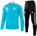 Adult Real Madrid 2021-22 Blue Football Soccer Tech Training Suit