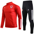 Kids Wales 2020-21 Red Technical Training Suit